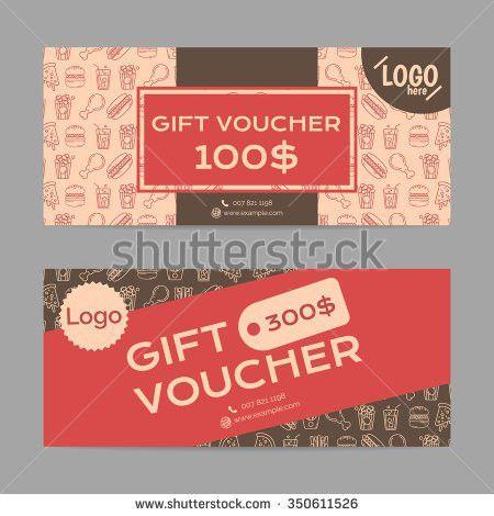 Gift Voucher Template Eps10 Vector Format Stock Vector 334407803 ...