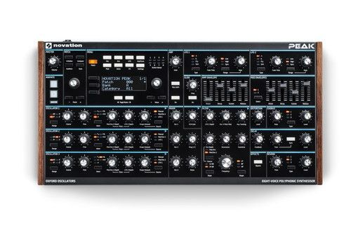 Novation Peak Polyphonic Synthesizer - Midwest Pro Sound and ...