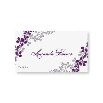Wedding Place Card Template - Download Instantly - EDIT YOURSELF ...