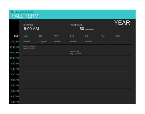 40+ Microsoft Calendar Templates - Free Word, Excel Documents ...