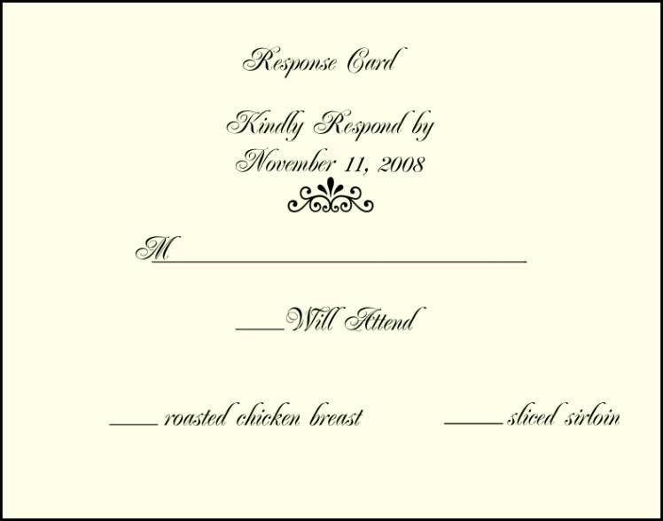 Responding To Wedding Rsvp Cards. Wedding Cards. Wedding Ideas And ...