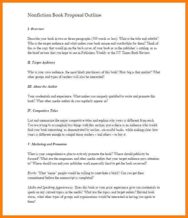 7+ book outline template | letter format for