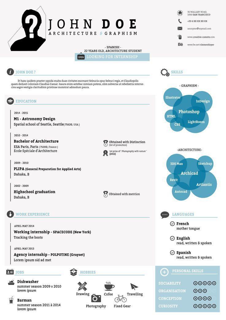 82 best Template Cv Infografica Gratis images on Pinterest ...