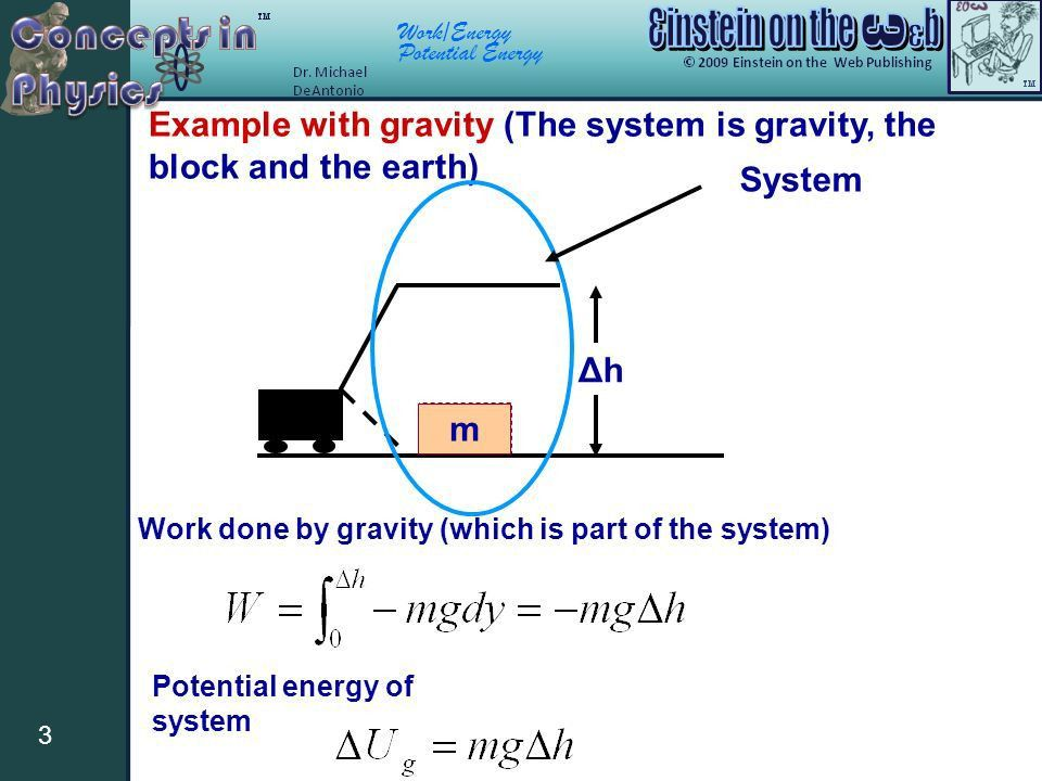 Work/Energy Potential Energy 1 Definition of Potential Energy ...