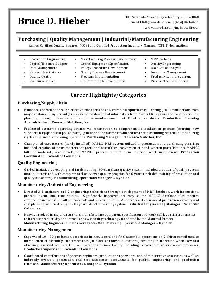 20+ [ Sample Resume For Chemical Engineer ] | Resume Of Qaqc ...