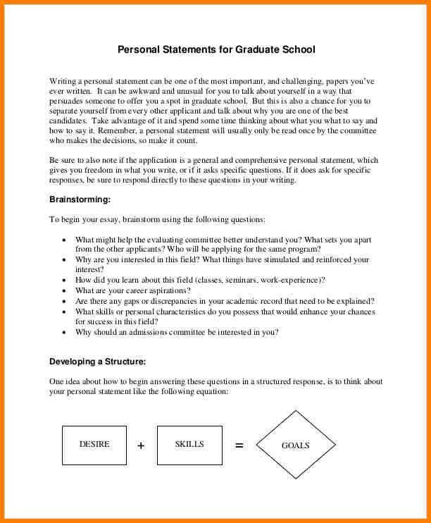 9+ medical school personal statement examples pdf | attorney ...