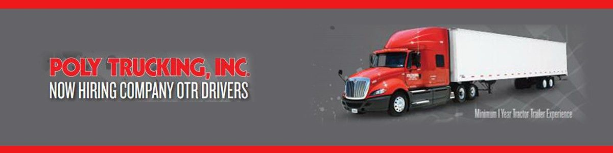 OTR Truck Driver $.52 per mile Jobs in Grand Prairie, TX - Poly ...