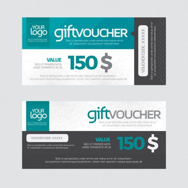 Voucher Vectors, Photos and PSD files | Free Download