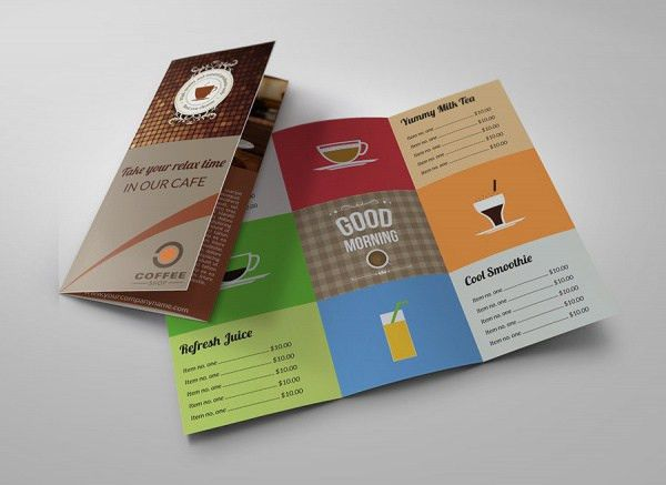 21+ PSD Restaurant Brochure, Coffee Shop Brochure | FreeCreatives