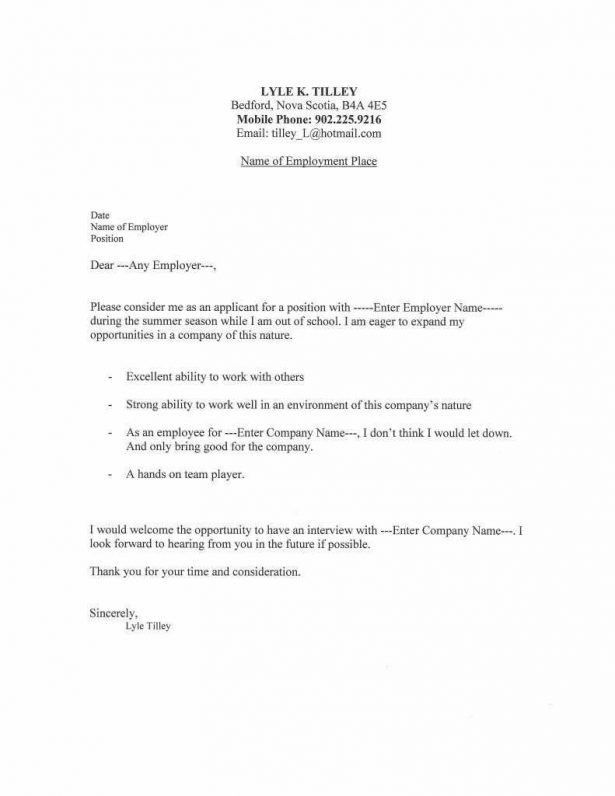 Resume : 9 Email Cover Letter Templates – Free Sample, Example ...