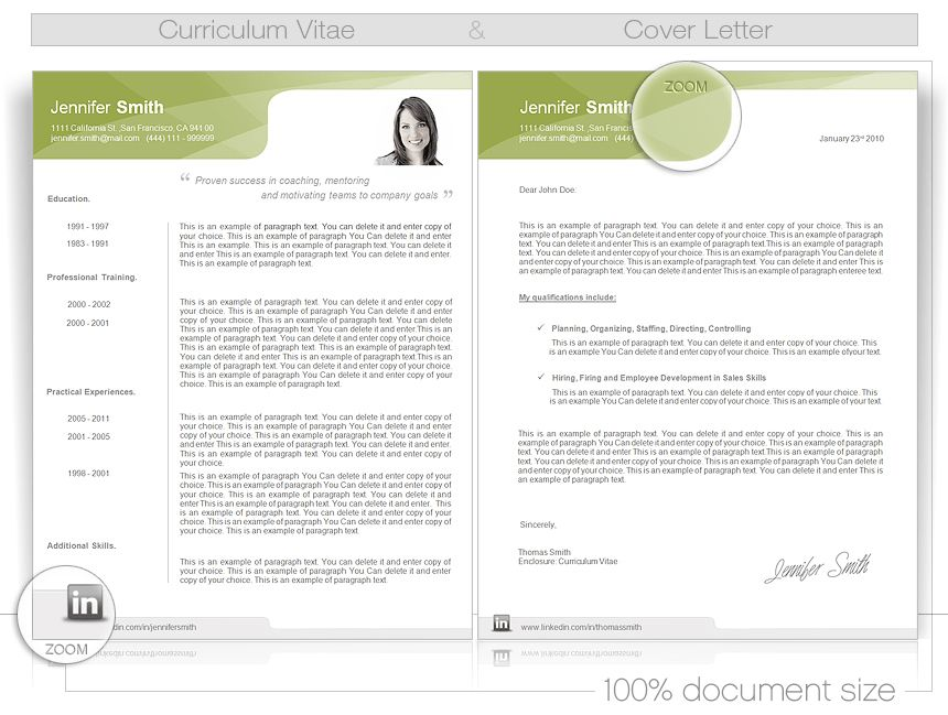 CV-Word-Template - CV templates give you full control over your CV ...
