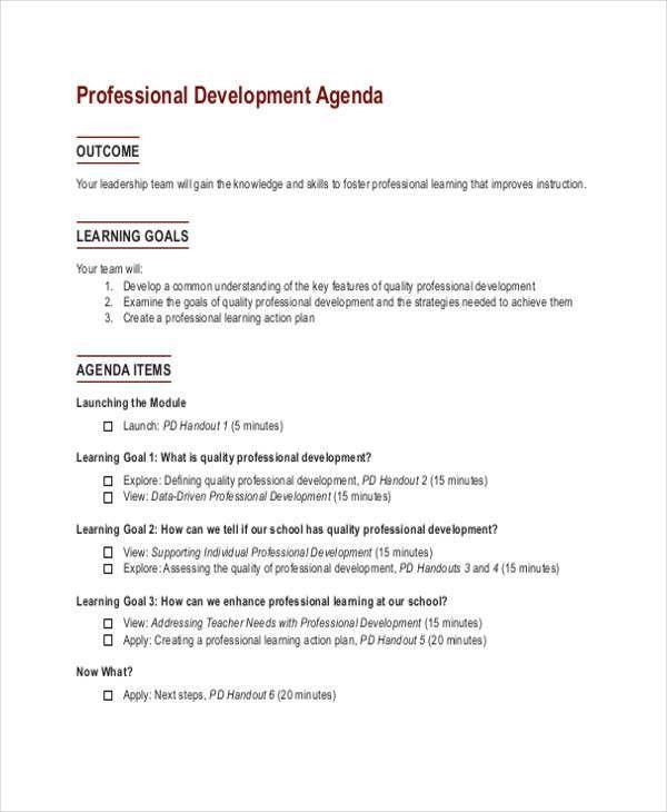 33+ Agenda Template Designs | Free & Premium Templates