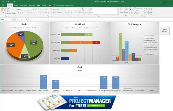 8 Must-Have Project Management Excel Templates - ProjectManager.com