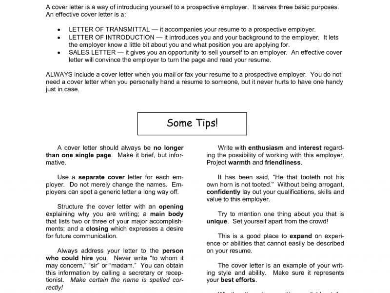 Cover Letter For Career Change - CV Resume Ideas