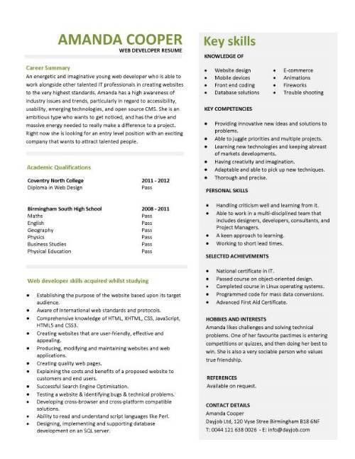 resume sample for high school students with no experience. little ...