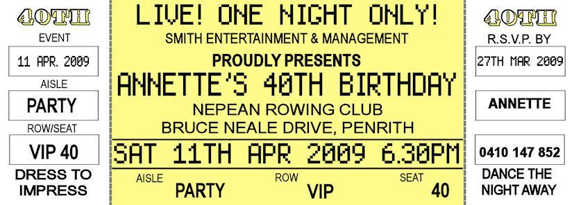 Birthday Invitation Free Printable Ticket – orderecigsjuice.info