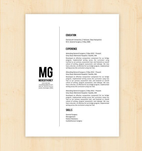 Resume #Template PSD, AI Illustrator, MS Word. Download here ...