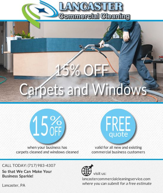 Lancaster, PA Commercial Cleaning Service - Office Cleaning ...