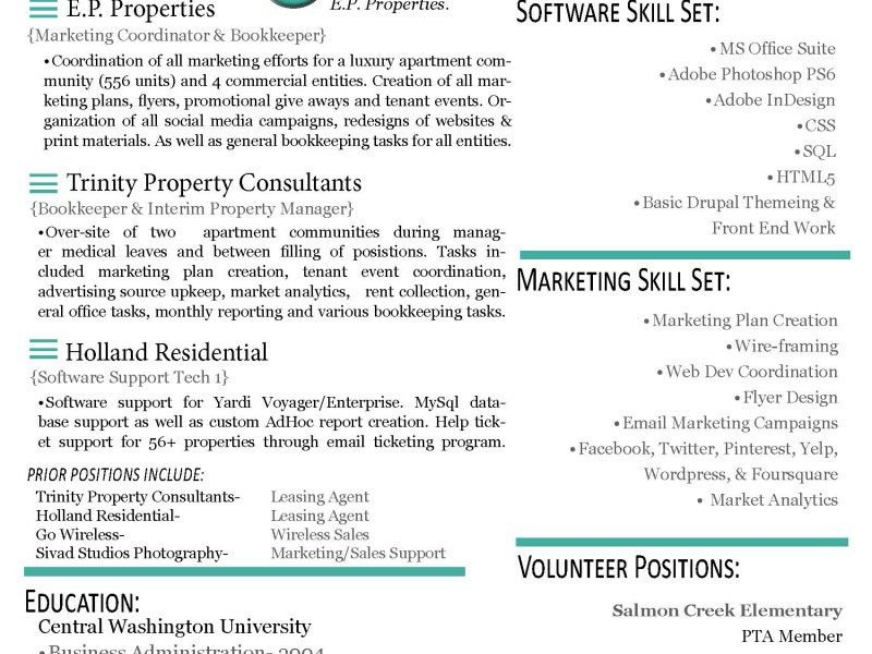 Oceanfronthomesforsaleus Personable Resume Models Pdf Template ...