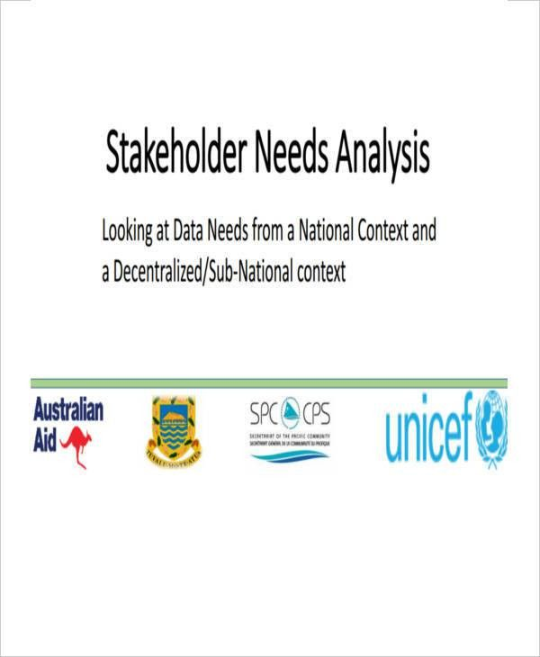 Stakeholder Analysis - 11 Examples in Word, PDF