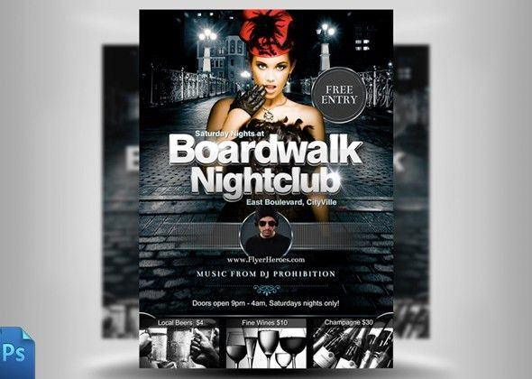 20 Nice Nightclub Flyers Templates