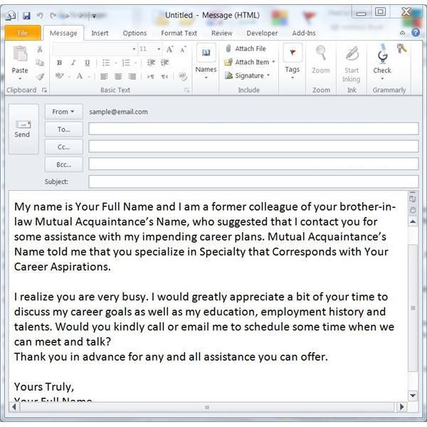 Tips for Sending a Networking Email - Free Templates Included