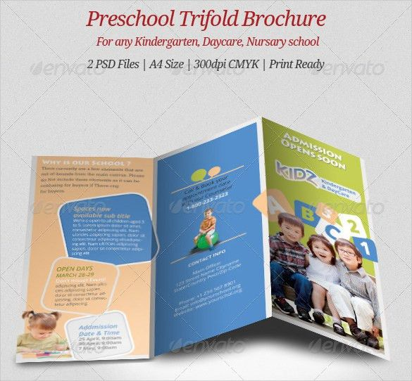 14+ Daycare Brochure Templates – Free PSD, EPS, Illustrator, AI ...