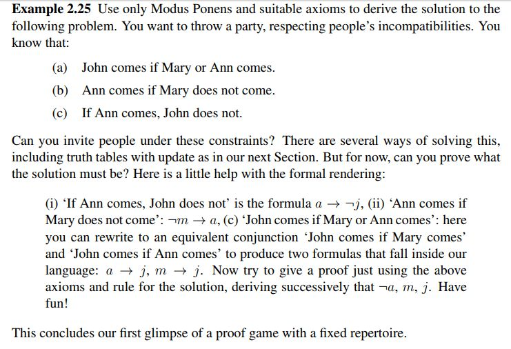 discrete mathematics - How to proof logic with axioms and modus ...