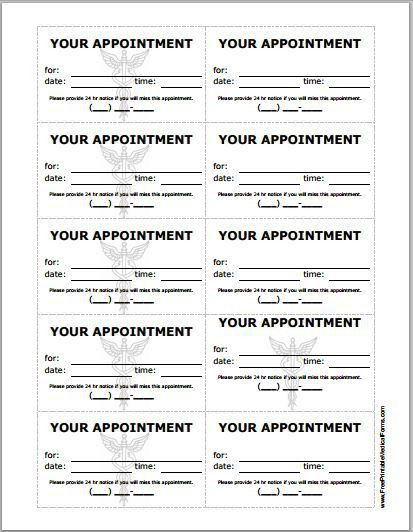 Appointment Slip Template. Agent Appointment Letter - Easy To ...