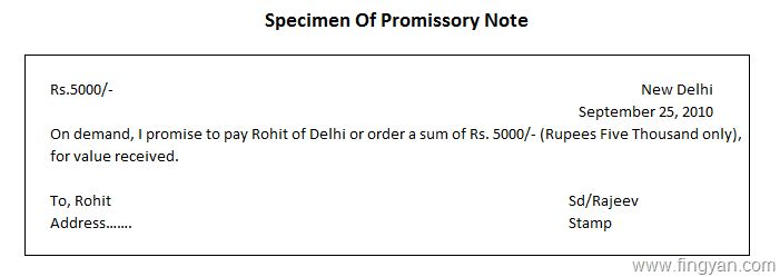 Difference Between Promissory Note And Cheque, What Is Cheque ...