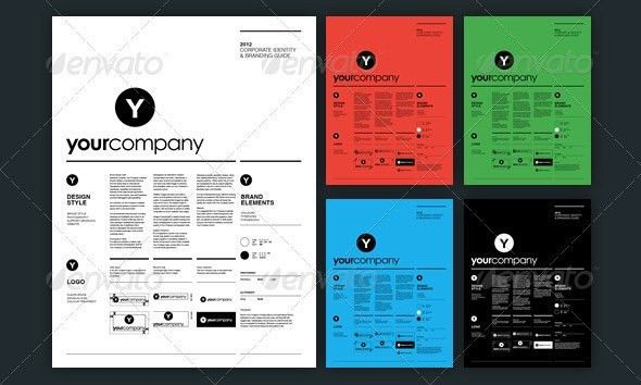 Branding Guidelines Template | Template Idea