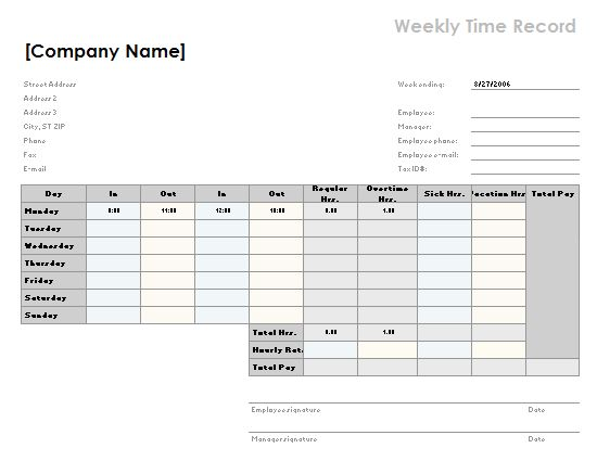 70+ Free Schedule & Planner Templates [ Word, Excel & PowerPoint ...