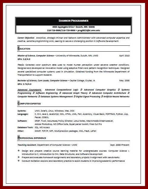 High School Student Resume. 11 Student Resume Samples No ...