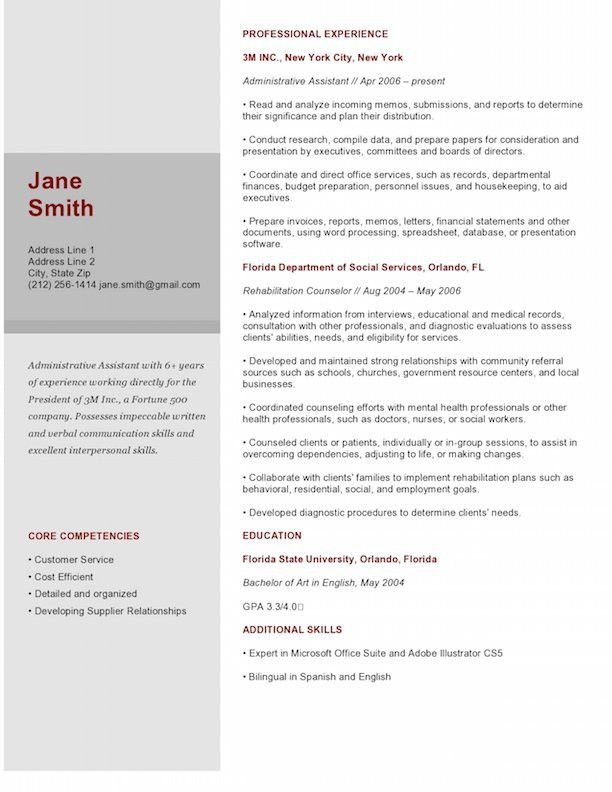 Resume For Graphic Designer - Resume Example