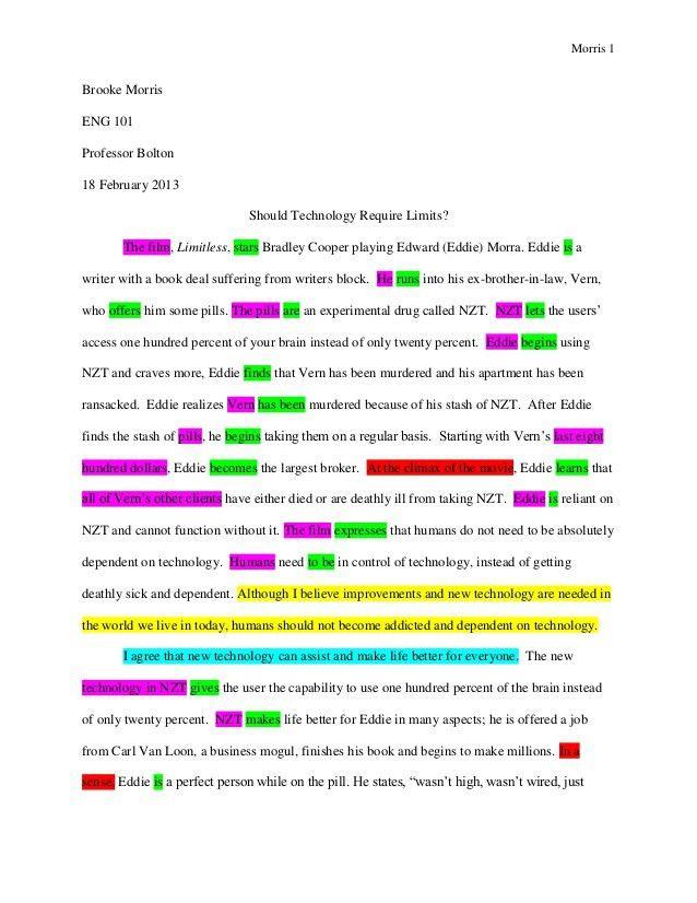 Essay Draft Example] Comparative Essay Draft Ib English A2 Sl Year ...