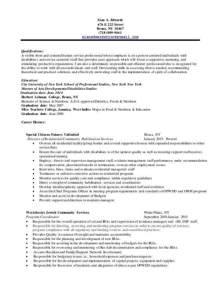 Xian's Resume