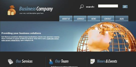 Free Download 50+ High Quality XHTML/CSS Corporate Website ...