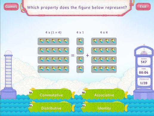 Distributive Property of Multiplication Worksheets - 4th Grade Math