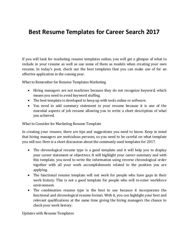 Download Create Your Own Resume | haadyaooverbayresort.com