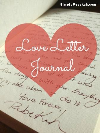 Love Letter Journal: a Cheap, but Meaningful Gift for a Wedding ...