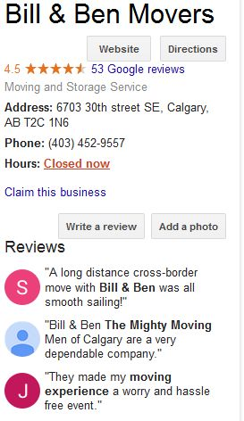 Review of the Best Calgary Movers and Moving Companies in Calgary ...