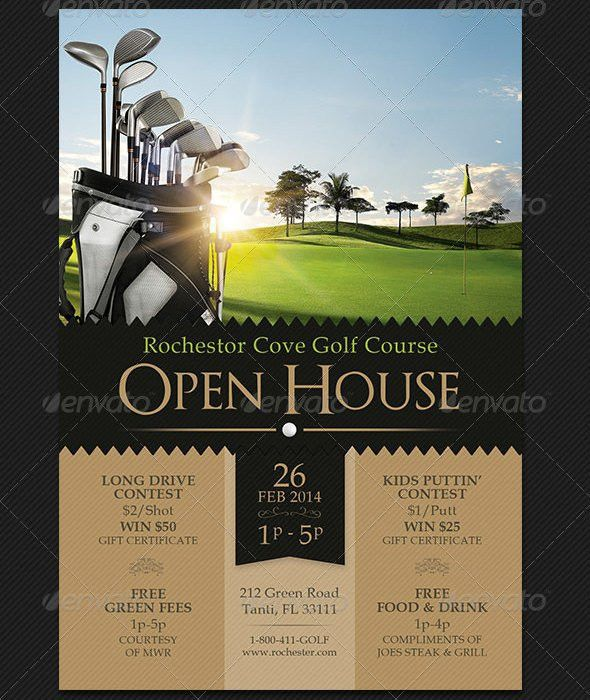 Open House Flyer Template Free | Template Design