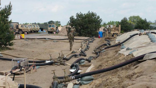 240th Quartermaster Supply Co. makes bulk fuel history prepping ...