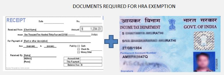 Documents Required For House Rent Allowance (HRA) Tax Exemption
