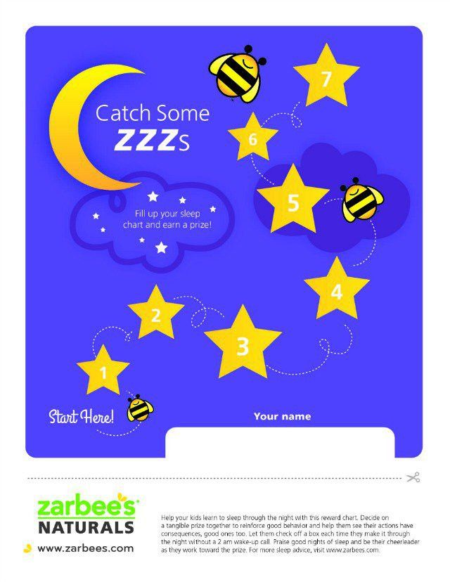 Sleep Reward Chart for Kids! Great idea - for them staying in ...