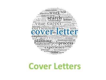 Targeting Your Cover Letter Presented by Experiential Learning and ...