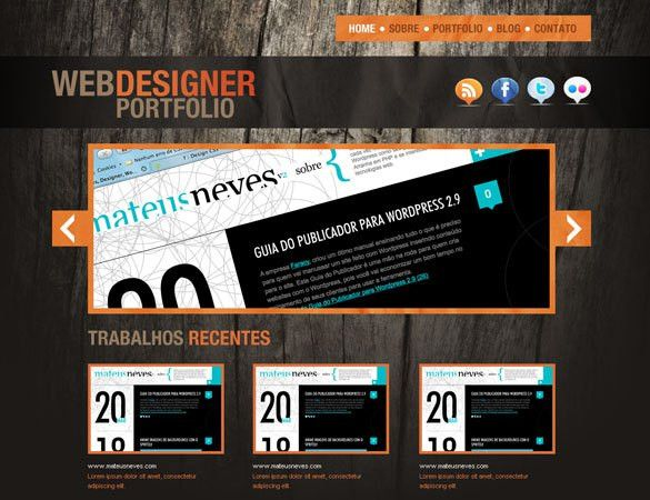 Free Professional PSD Web Templates
