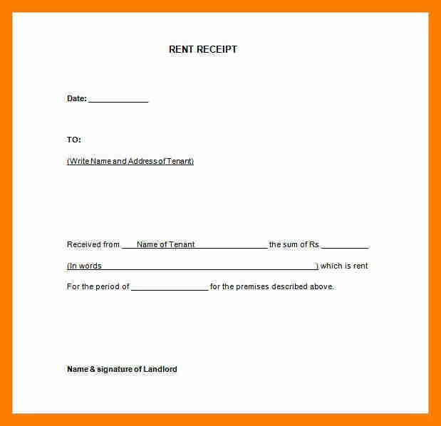 10+ rent paid receipt format | janitor resume