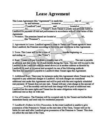 Apartment Lease Agreement Template | trxtrainingequipment.com