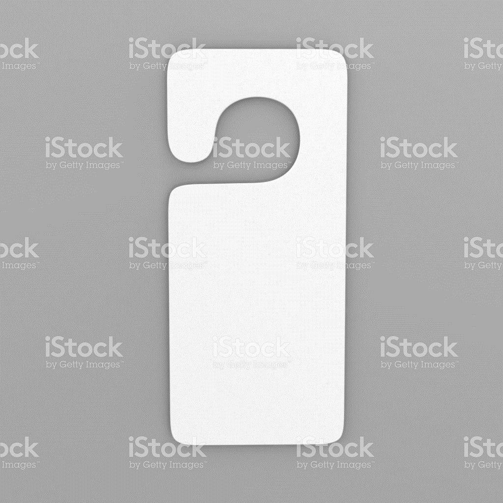 Door Hanger Template Pictures, Images and Stock Photos - iStock